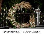 Beautiful Round Wedding Arch...