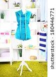 female mannequin in creative... | Shutterstock . vector #180446771