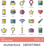 web icons including file ...