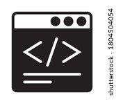 website development coding  ...   Shutterstock .eps vector #1804504054