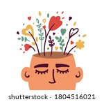mental health  psychology... | Shutterstock .eps vector #1804516021