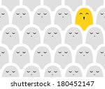 funny pattern. bright yellow... | Shutterstock .eps vector #180452147