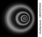 circular geometry design... | Shutterstock .eps vector #1804535434