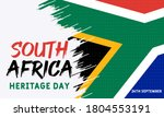 heritage day in south africa.... | Shutterstock .eps vector #1804553191