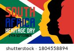 heritage day in south africa.... | Shutterstock .eps vector #1804558894
