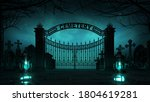 Cemetery Front Entrance Gate...