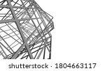 structure building construction.... | Shutterstock .eps vector #1804663117