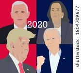 brighton uk   august 29 2020... | Shutterstock .eps vector #1804709677