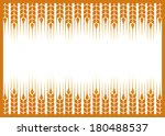 label with wheat ears...   Shutterstock .eps vector #180488537