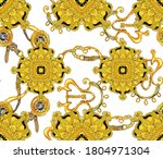 endless repeating  intricate...   Shutterstock .eps vector #1804971304