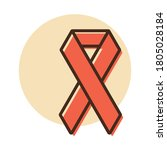 aids vector icon. medicine and...