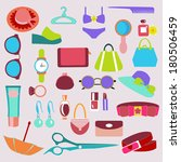 flat icon of fashion... | Shutterstock .eps vector #180506459