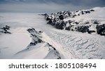 High Alpine Polar Glacier...