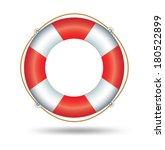 life ring  | Shutterstock .eps vector #180522899