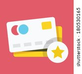 vector credit card and star...