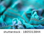 Knitted Fabric Surface As A...