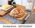 freshly baked homemade... | Shutterstock . vector #1805328664