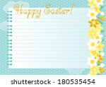 easter background. many spring... | Shutterstock .eps vector #180535454