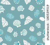 seamless pattern with various... | Shutterstock .eps vector #180539519