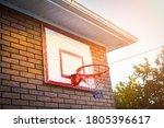 Basketball Hoop On The House....