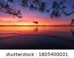 Sunset On Lake Macquarie ...