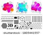 Vector Shapes Geometric Design...