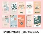 set of mobile sale banners....   Shutterstock .eps vector #1805537827