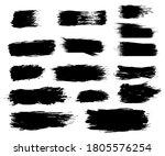 hand drawn of brush stroke for... | Shutterstock .eps vector #1805576254