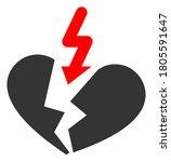breakup heart raster... | Shutterstock . vector #1805591647