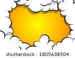 comic book cartoon speech...   Shutterstock .eps vector #1805638504