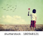 colorized vintage image of a...   Shutterstock . vector #180568121