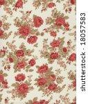 vintage fabric | Shutterstock . vector #18057583