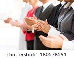 group of businesspeople... | Shutterstock . vector #180578591