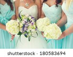 close up of bride and... | Shutterstock . vector #180583694