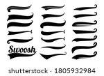 swoosh tails. swirl sport...   Shutterstock .eps vector #1805932984