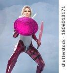 3d Illustration Modern Female...