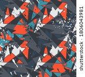 seamless abstract urban pattern ... | Shutterstock .eps vector #1806043981