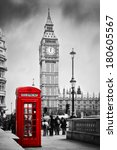 Red Telephone Booth And Big Be...