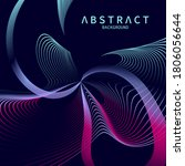 abstract modern background with ... | Shutterstock .eps vector #1806056644