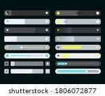 set of screen brightness... | Shutterstock .eps vector #1806072877