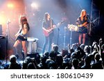 paris   mar 1  haim  american... | Shutterstock . vector #180610439