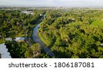 aerial drone. natural scenery... | Shutterstock . vector #1806187081
