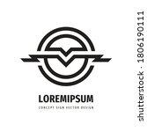 business concept logo design....   Shutterstock .eps vector #1806190111