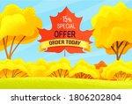 Sale Autumn  Promo Action   15  ...