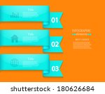 vector modern infographic... | Shutterstock .eps vector #180626684
