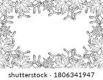maple tree leaves pattern... | Shutterstock .eps vector #1806341947