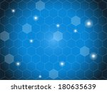 abstract hexagon background | Shutterstock . vector #180635639