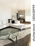 beautiful interiors of a modern ... | Shutterstock . vector #180638999
