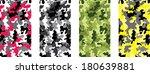 military pattern | Shutterstock .eps vector #180639881