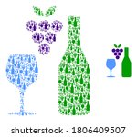 Vector Wine Composition Is...